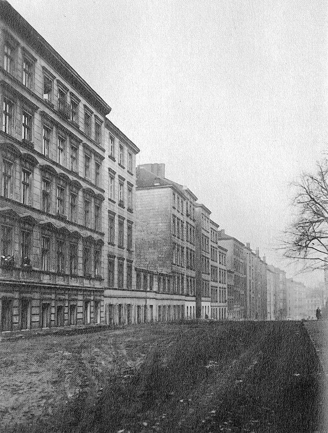 Friedrich Seidenstcker Berlin unbefestigte Strae Am