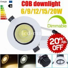 47 Off Limited 20 Off Dimmable 6w 9w 12w 15w 20w Cob Led