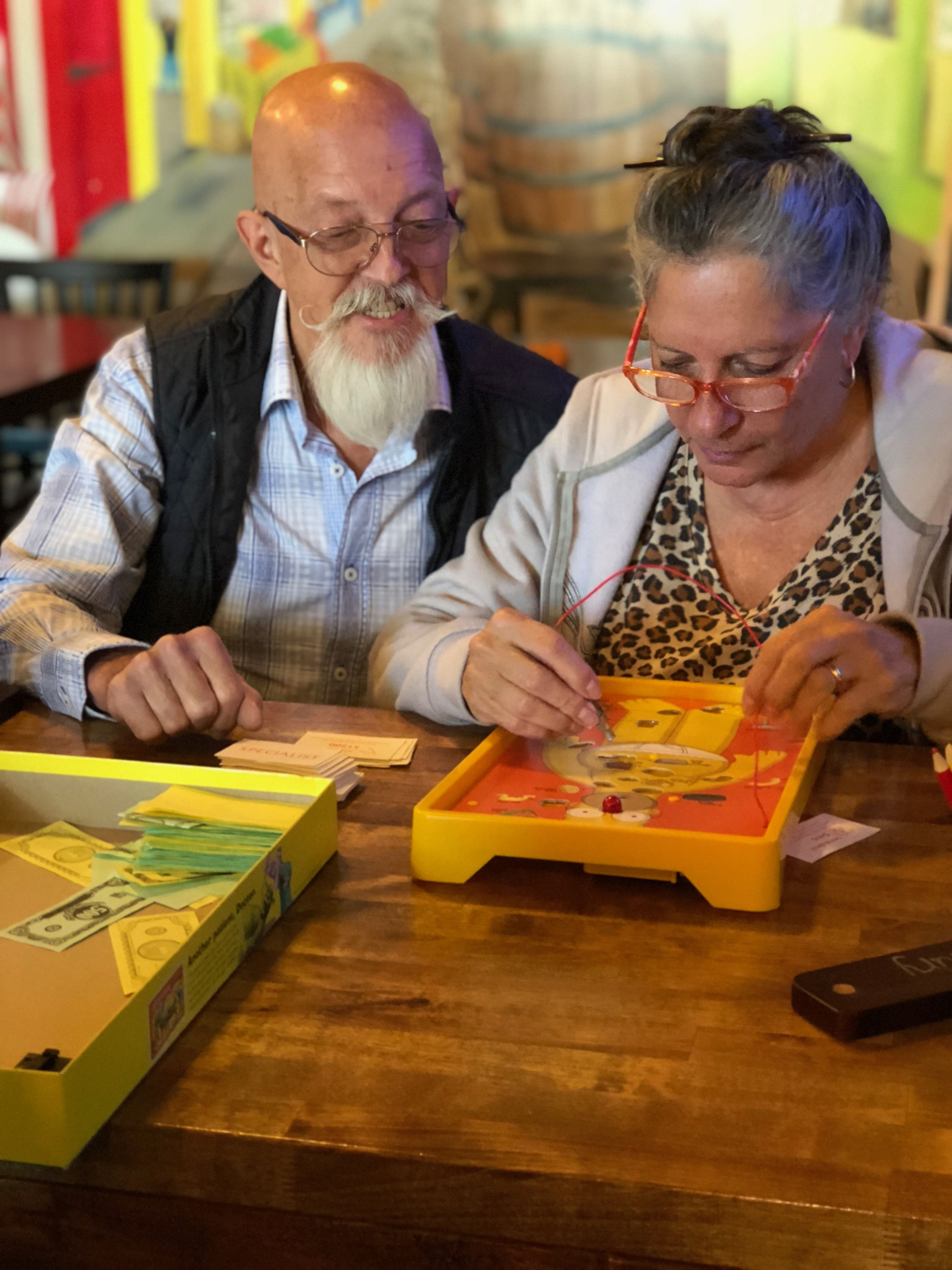 Board games at shebeens taproom tap room brewery