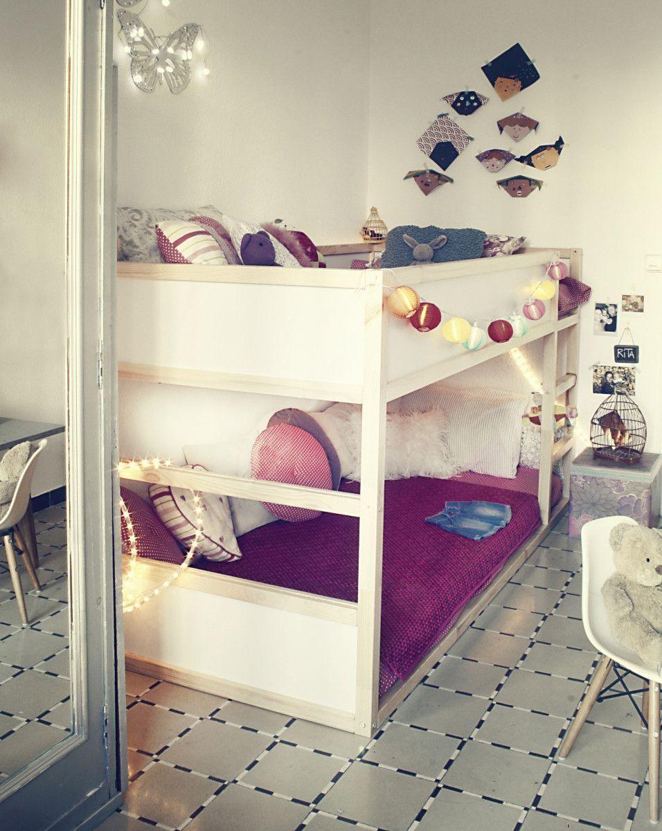 Kid-friendly DIYs Featuring The IKEA Kura Bed | Ikea kura, Bunk ...