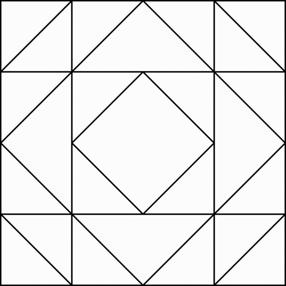 Quilt Pattern Coloring Pages | Coloring Pages | Pinterest | Patterns