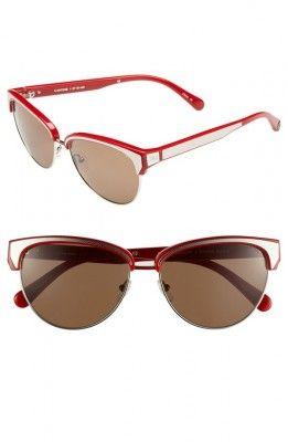 af270d0ec8218 Óculos Carrera Women s Carmine Sunglasses Red Silver  Oculos  Carrera    Óculos Femininos   Pinterest   Óculos feminino, Óculos e Feminina
