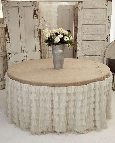 Wedding Tablecloth Burlap Tablecloth Table Cloth Decor