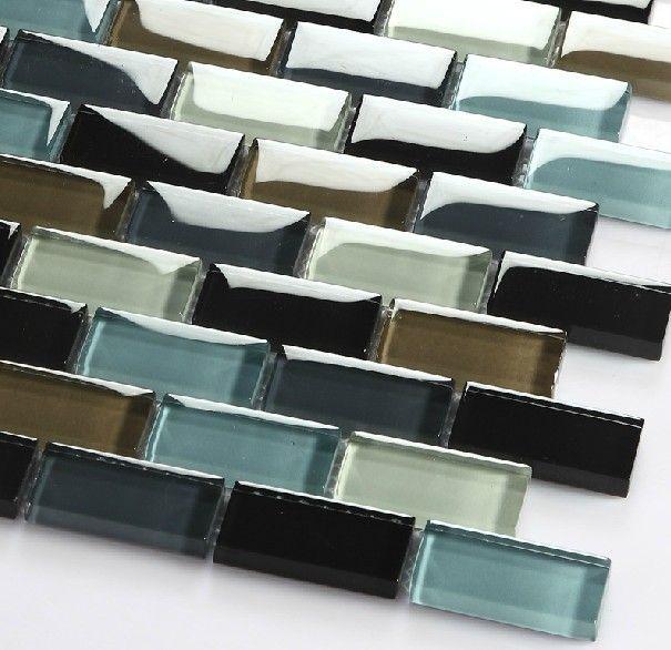 Mosaico de vidrio para piscina azulejo cgmt114 ladrillo for Forrar azulejos cocina