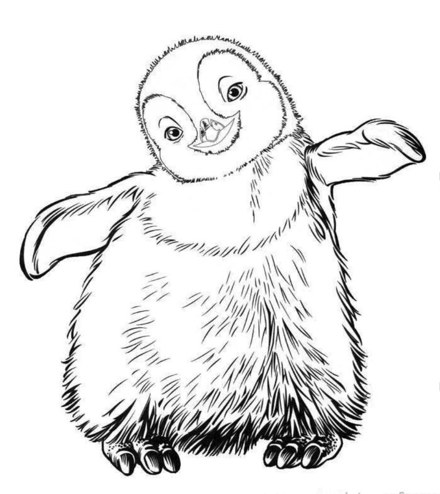 Happy Feet Free Printable Coloring Pages No 23  Coloringplus.com