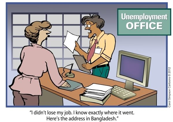 The lost job