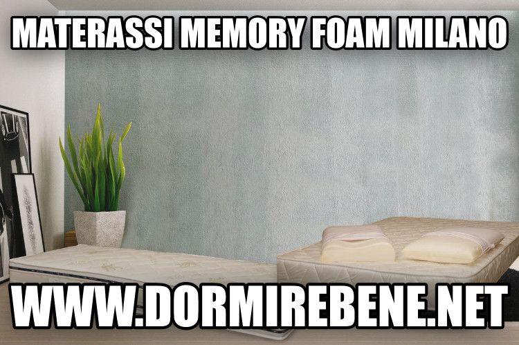 Materasso Memory Air Gel.Materassi Memory Foam Milano 39 339 1017144 Dormirebene