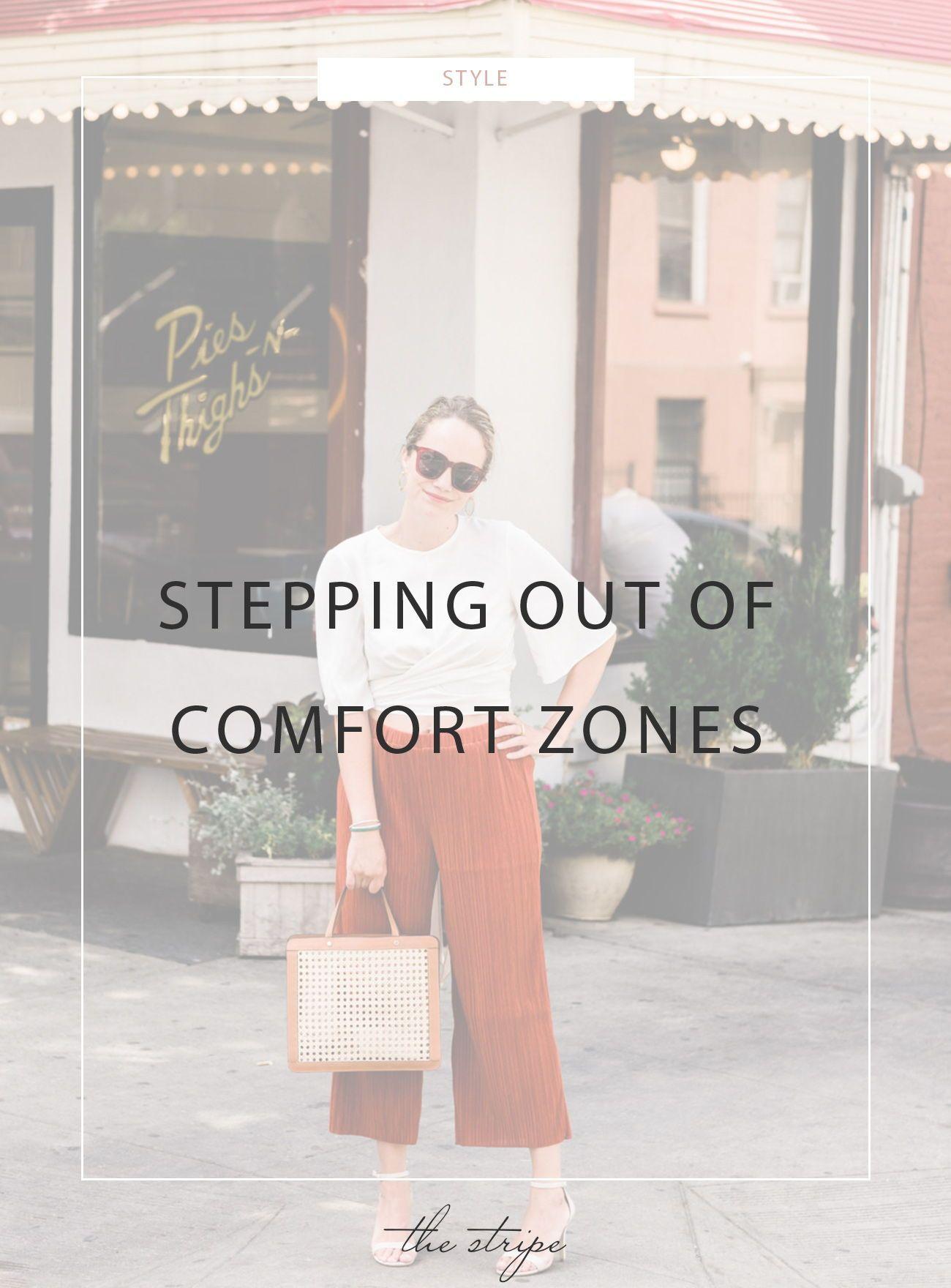 47acdd7926 Crop Top & Wide Leg Pants   The Stripe blog posts.   Comfort zone ...
