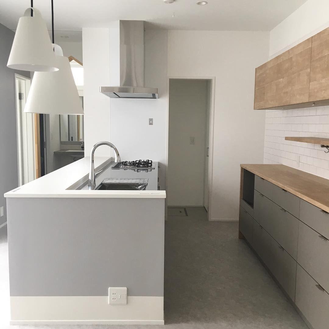 キッチンまとめです キッチンのワークトップの高さは84 腰壁