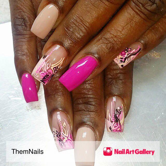 Nails❤ I Like by ThemNails via Nail Art Gallery #nailartgallery ...