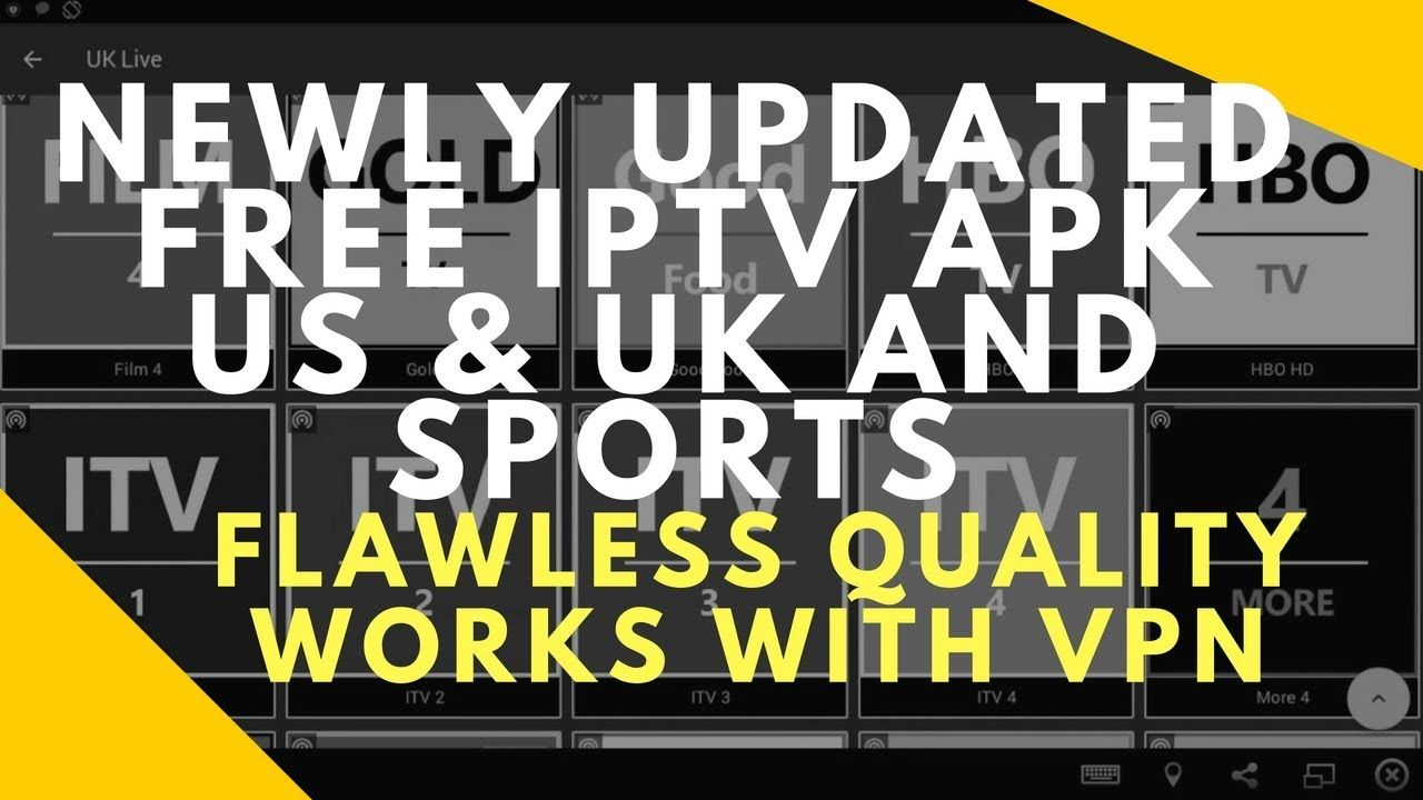 NEWLY UPDATED FREE IPTV BEST APK FOR Live Sports & TV