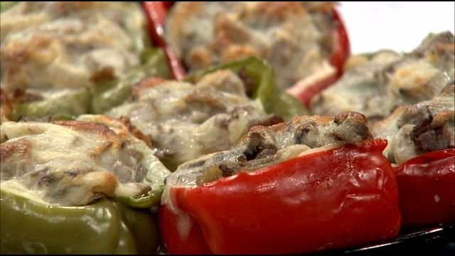 Heartland Cooks 7/7 - Jean's Philly Cheese Steak Stuffed Peppers - KFVS12 News & Weather Cape Girardeau, Carbondale, Poplar Bluff