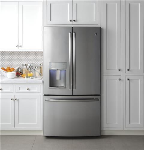 int grer un frigo am ricain dans sa cuisine cuisine pinterest frigo frigo americain et. Black Bedroom Furniture Sets. Home Design Ideas