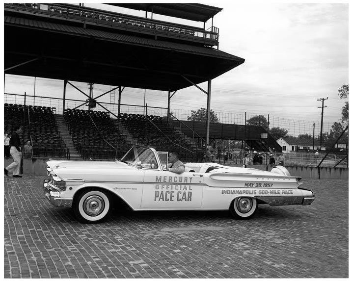 1957 indy pace car i just saw one of these in floyds knobs