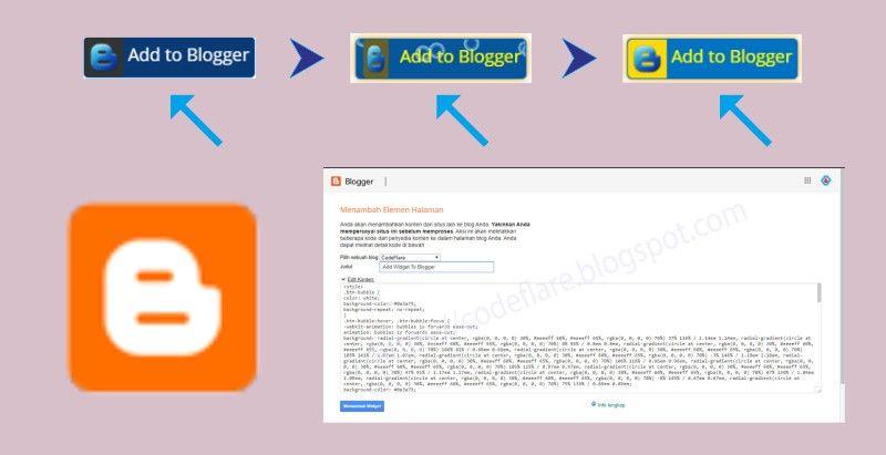 T Ombol Add To Blogger Dengan Animasi Bubble Merupakan Tombol Link Akses Langsung Menambahkan Widget Blogger Ke Halaman Blog Penamba Logo Blog Blogger Blog