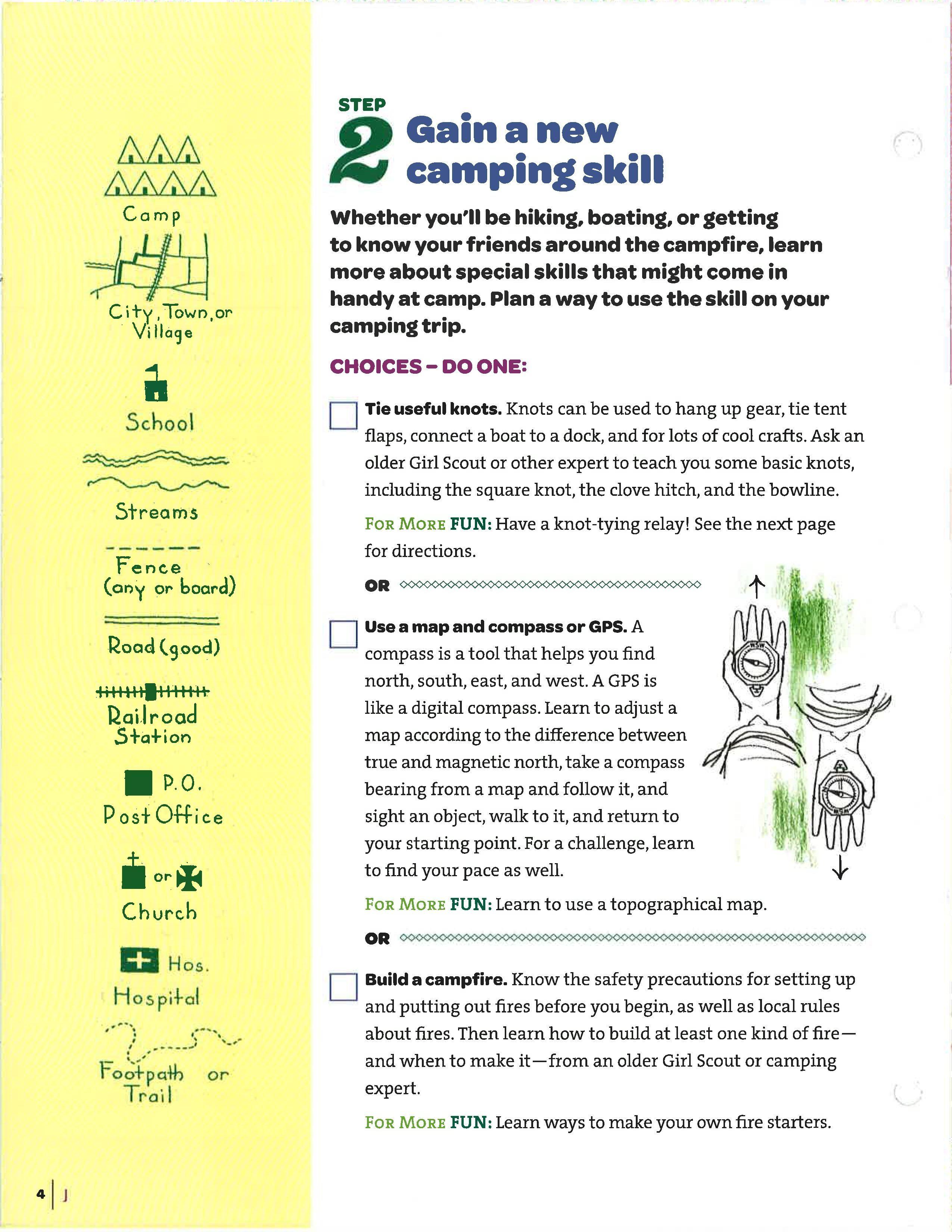 Junior Camper Badge Requirements