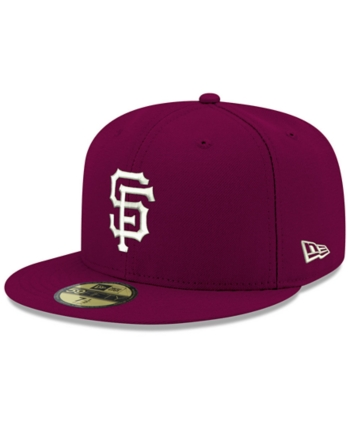 new concept 36c84 88fda New Era San Francisco Giants Re-Dub 59FIFTY Fitted Cap - Red 8