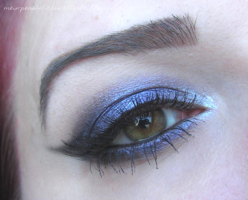 Nachgeschminkt Juni 2014 - Sultry Purple Smokey Eye von Maya Mia