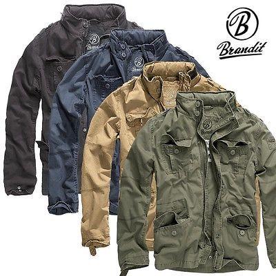 Details about Brandit Men's Britannia Jacket Men Field M65