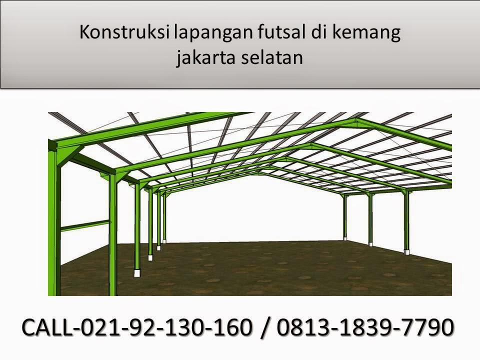 Konstruksi Baja Gudang Lapangan Futsal Arsitektur Lanskap Arsitektur Desain