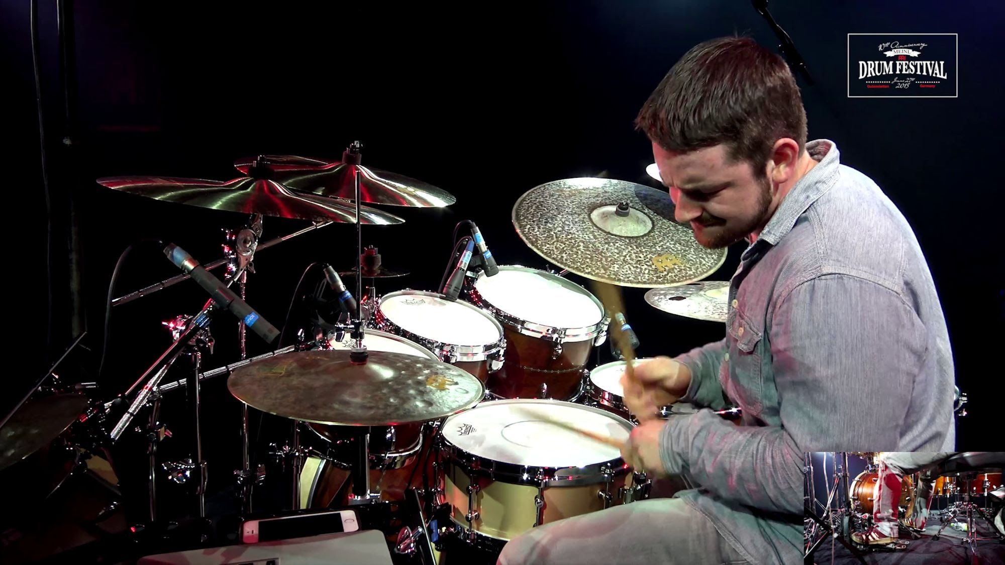 Meinl Drum Festival 2015 Matt Garstka Animals As Leaders