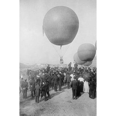 Buyenlarge \'Berlin Balloon Race\' Photographic Print Size: 42\