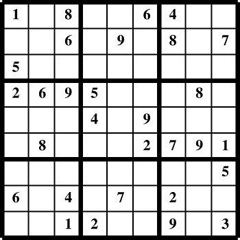 Printable Sudoku puzzles Puzzlers