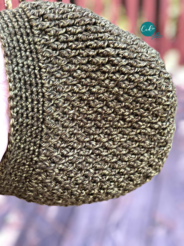 Textured Slouchy Hat Free Crochet Pattern | Yarn things | Pinterest ...