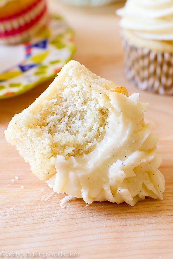 homemade moist vanilla cupcakes