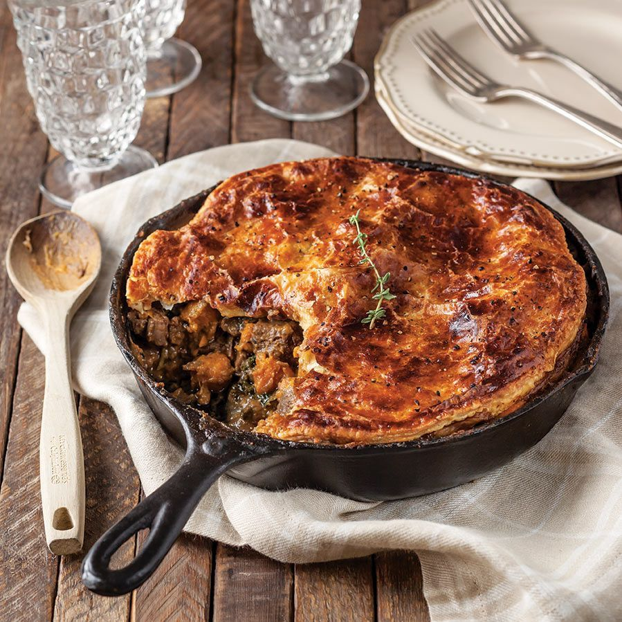 Steak and Sweet Potato Pie Southern Cast Iron in 2020