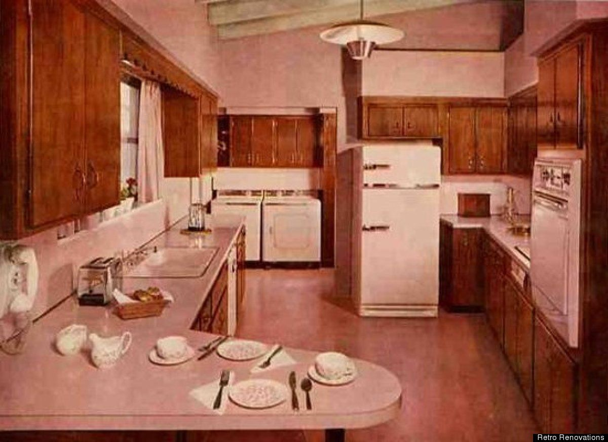Retro Kitchens: A Look At 1950s Style (PHOTOS)