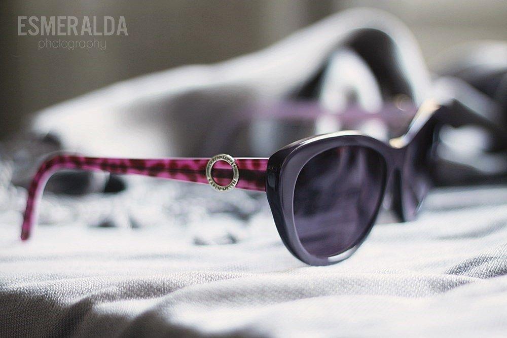 Karen Millen sunglasses. Pic by Esmeralda's blogger Essi.