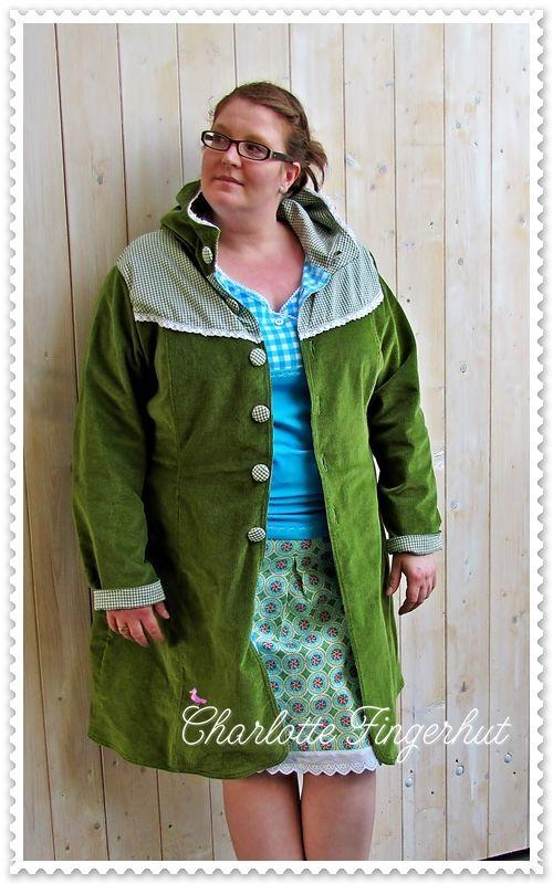 Jacken Schnittmuster für Mollige B…   Schnittmuster Jacke Plus Size ...
