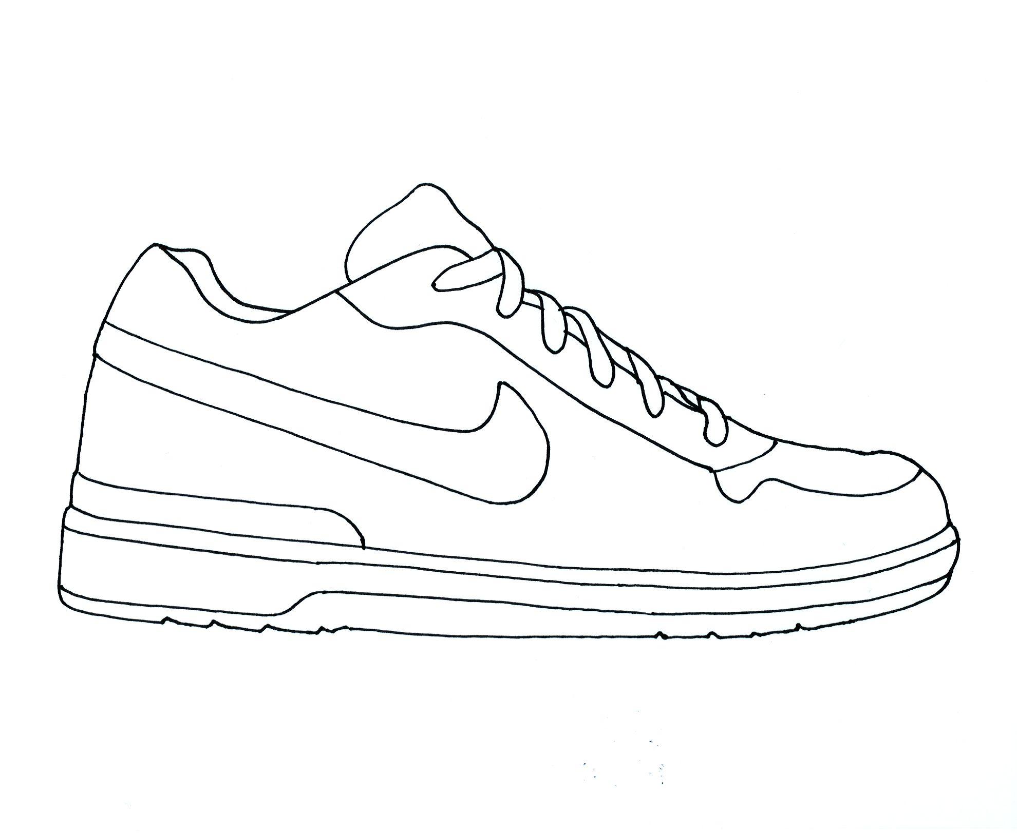 Nike Air Jordan Clipart