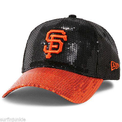 c860d1d6 Victoria's Secret PINK SAN FRANCISCO GIANTS SF Sequin MLB New Era ...