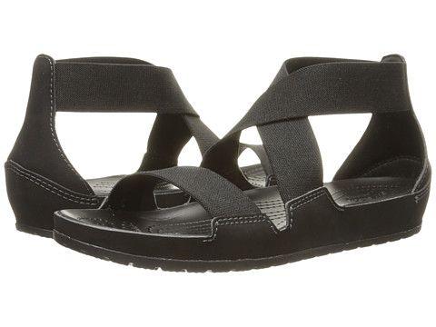 Crocs Shoes Crocs Anna Ankle Strap Sandal Womens Sandals Black