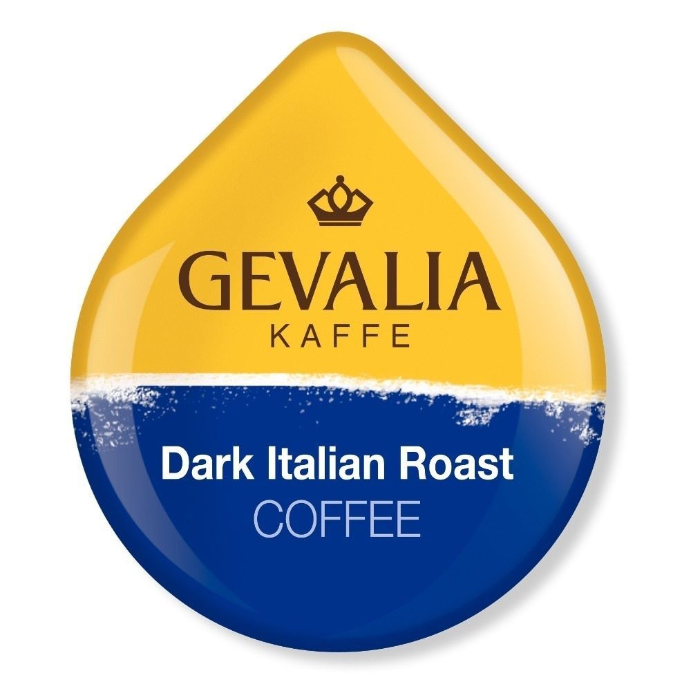 Gevalia Dark Italian Roast Coffee T-Discs for Tassimo Hot Beverage System