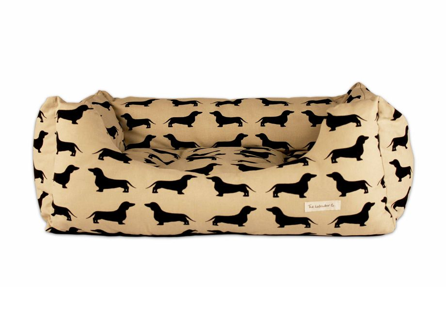 Best Luxury Dachshund Bolster Bed From The Labrador Company 400 x 300