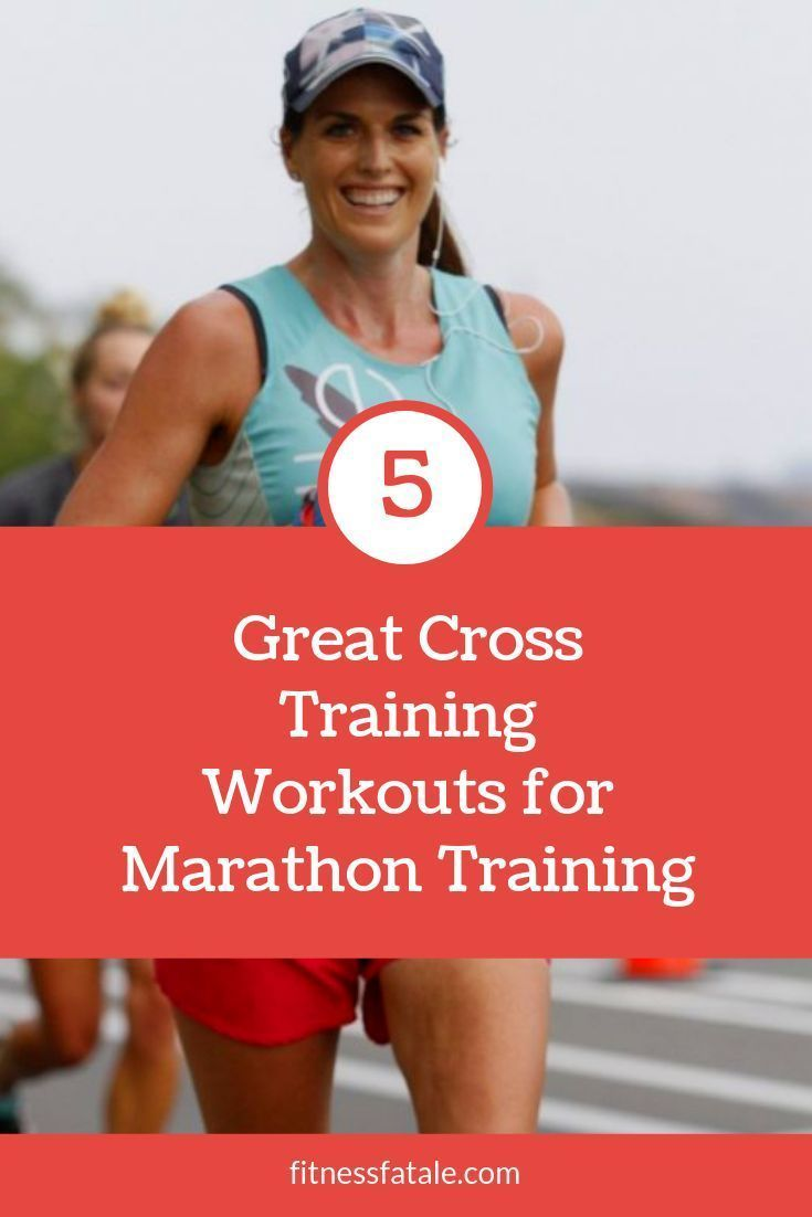 Click to read the best Marathon Training cross training workouts. Follow my story as I review 5 diff...