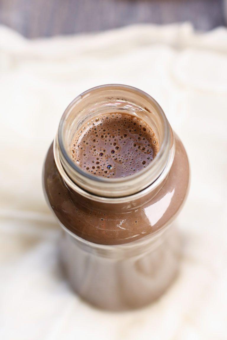 DairyFree Peppermint Mocha Coffee Creamer [vegan] • Fit