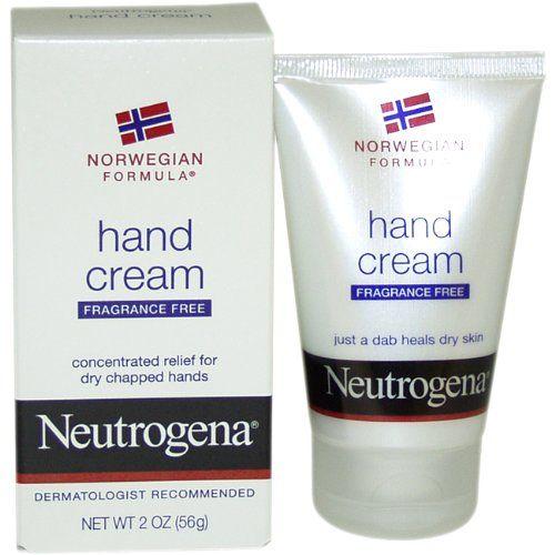 Neutrogena Norwegian Formula Hand Cream Fragrance Free 2 Ounce