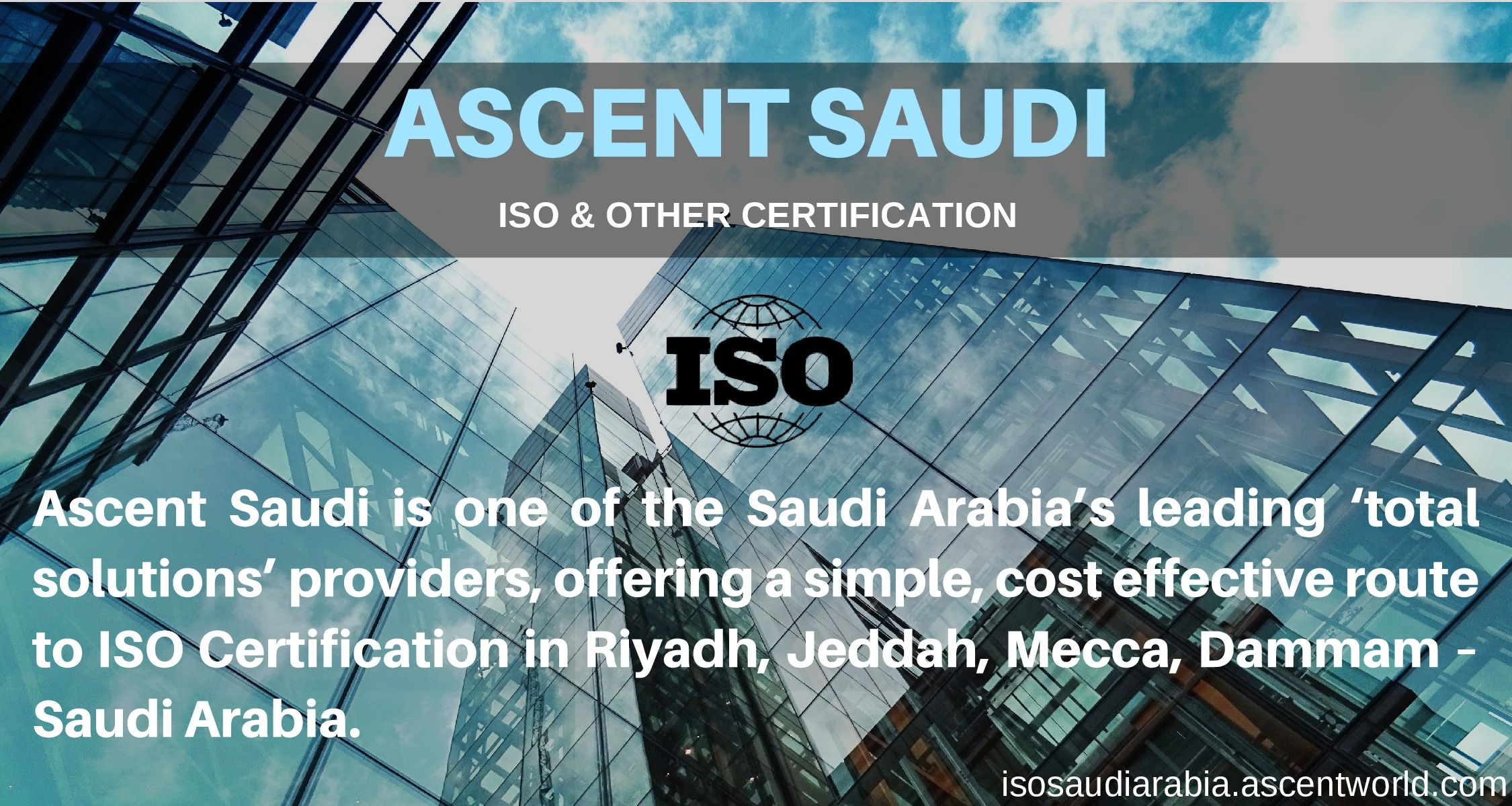 Obtain iso certification with worlds leading total