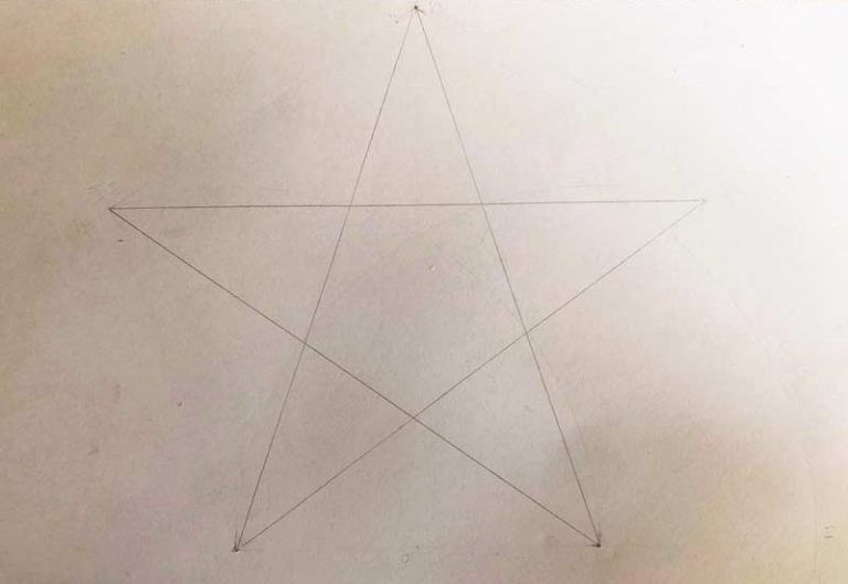 Come Disegnare Una Stella Perfetta A 5 Punte Carminearts Come Disegnare Disegni Fare Una Valigia