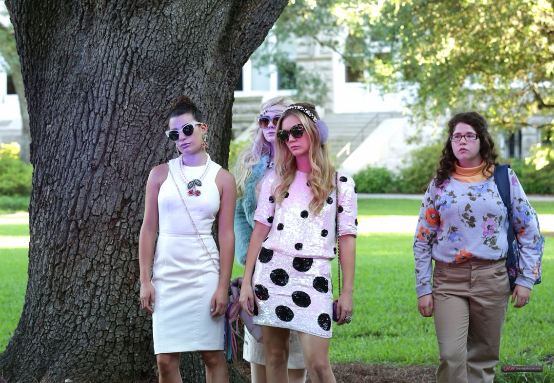 Chanel #6, #5, #3 and Jennifer in Scream Queens