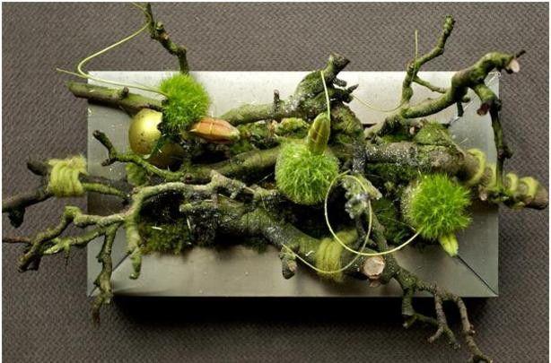 Diy Met Takken : Kerststukje met takken diy wood christmas flower arrangements