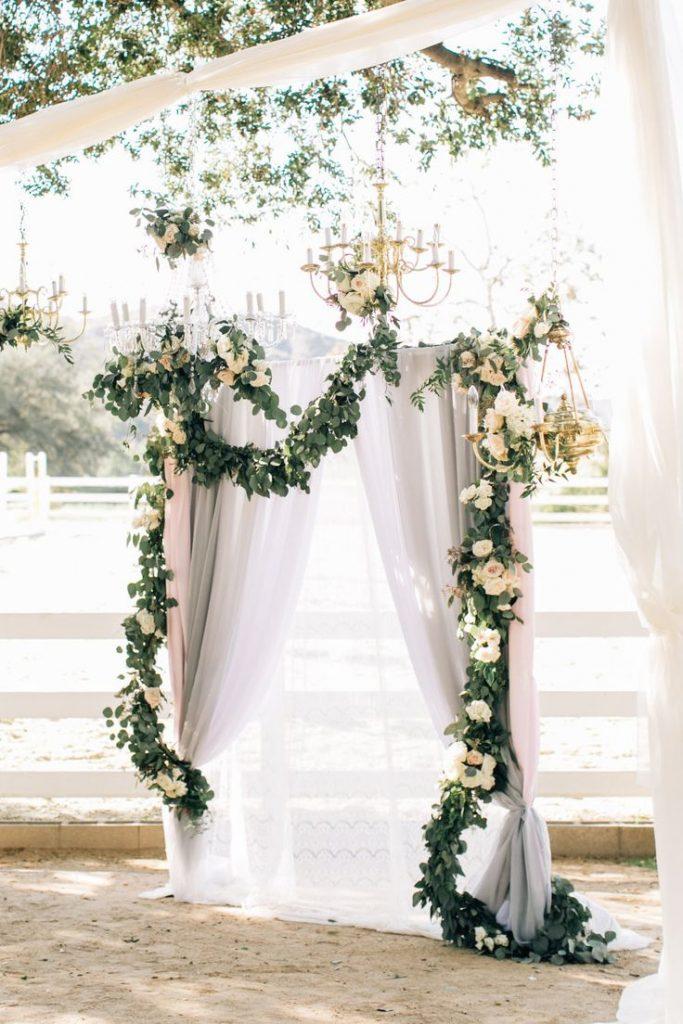 30 Best Floral Wedding Altars Arches Decorating Ideas Wedding Altars Wedding Altar Decorations Wedding Backdrop