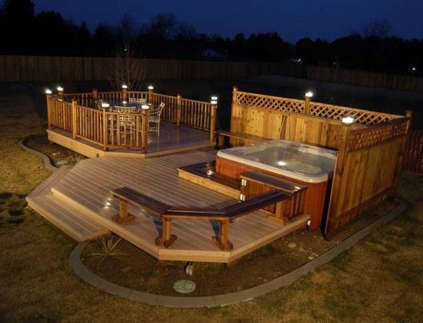 Deck Decorating Ideas Cheap And Its Creative Idea Wooden Deck