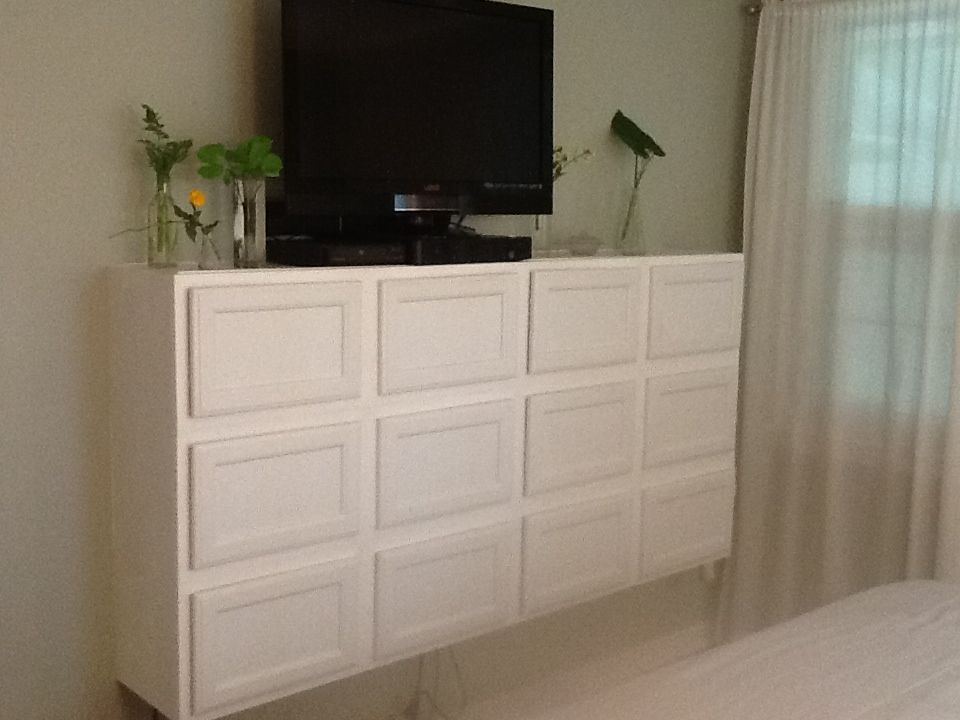 Lowes sells these great unfinished oak cabinets. These are ...