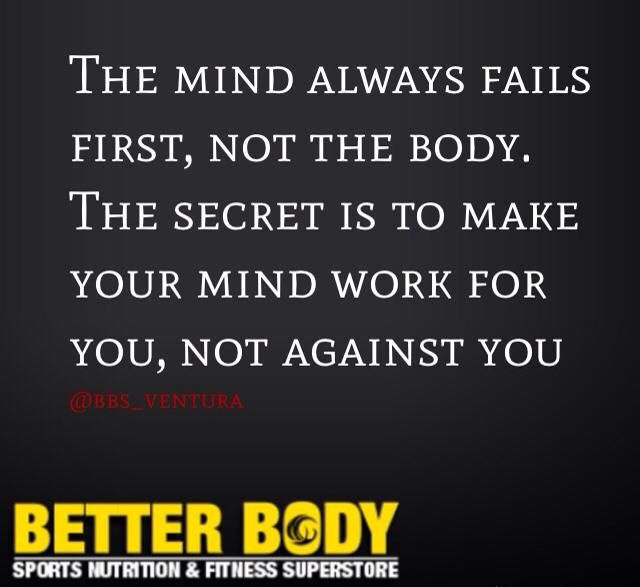 Make your mind work for you, not against you!