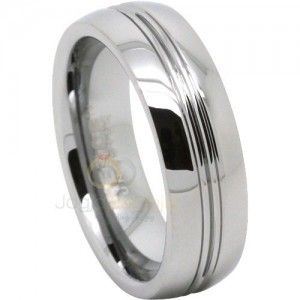 Cincin Kawin Javier Palladium 50 Untuk Pria Mens Wedding Rings Tungsten Tungsten Mens Rings Tungsten Wedding Rings